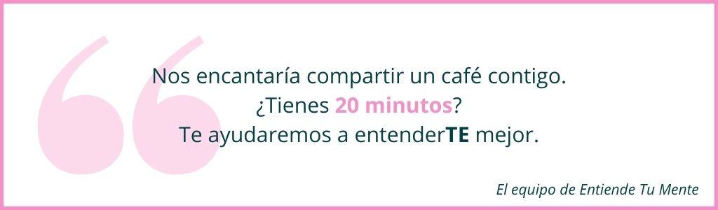 TIENES 20 MINUTOS