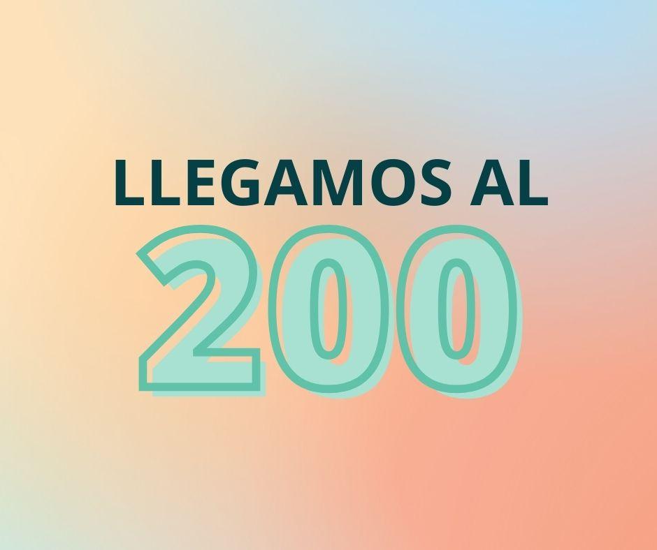 LLEGAMOS AL 200